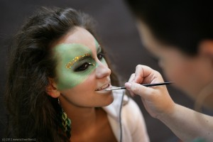Fairy styling - backstage