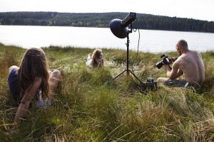 Wild Fairy styling - backstage