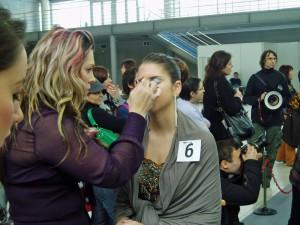 "Czech Make-up Master Class 2009 FINÁLE - téma ""Hollywood Star"""