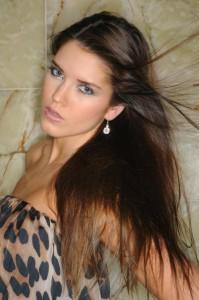 Modelka Jana Mutňanská - přítelkyně fotbalisty Milana Ivany