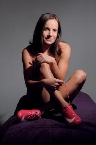 Fotbalistka Sparty Praha Irena Martínková pro lednové vydání magazínu Sportstar